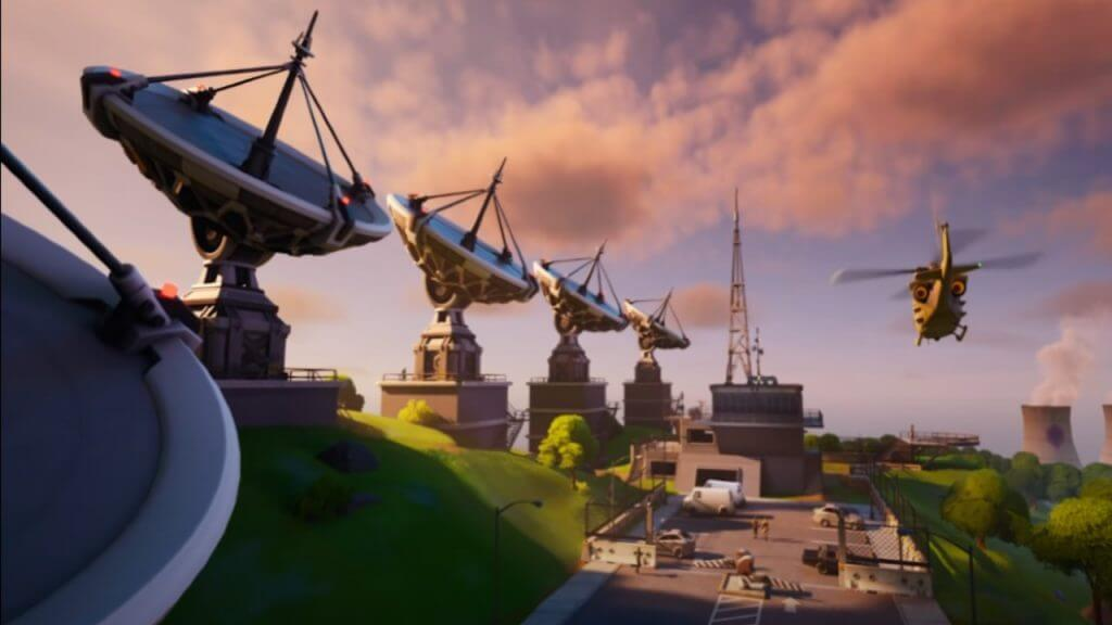 Fortnite: How to Interact With Equipment at Any IO Radar Dish Base