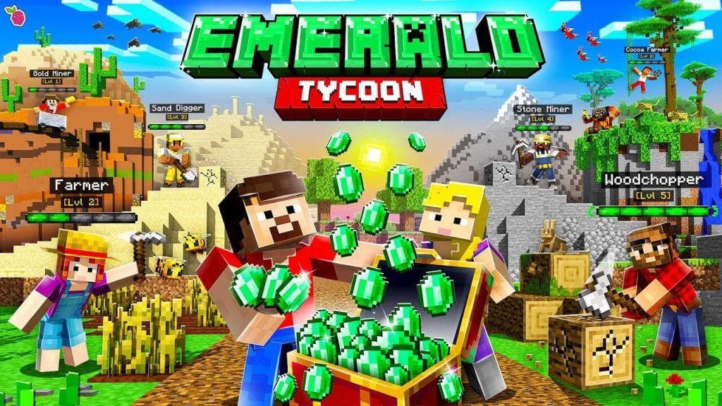 How to Get Minecraft: Emerald Tycoon Map in Bedrock Edition