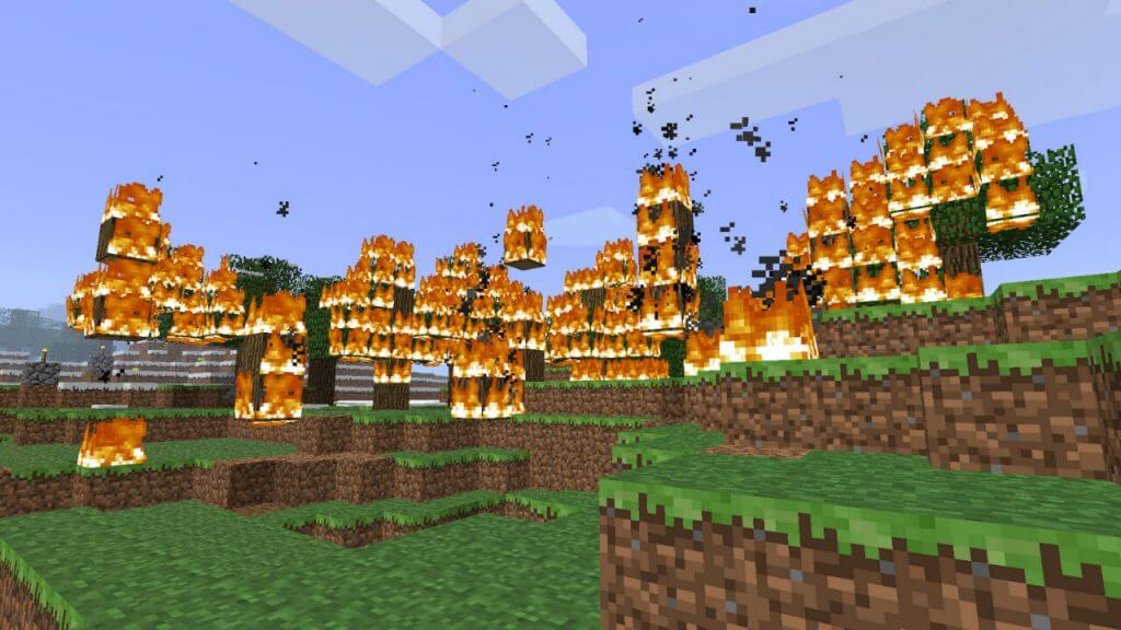 Minecraft: How to Turn Off Fire Spread