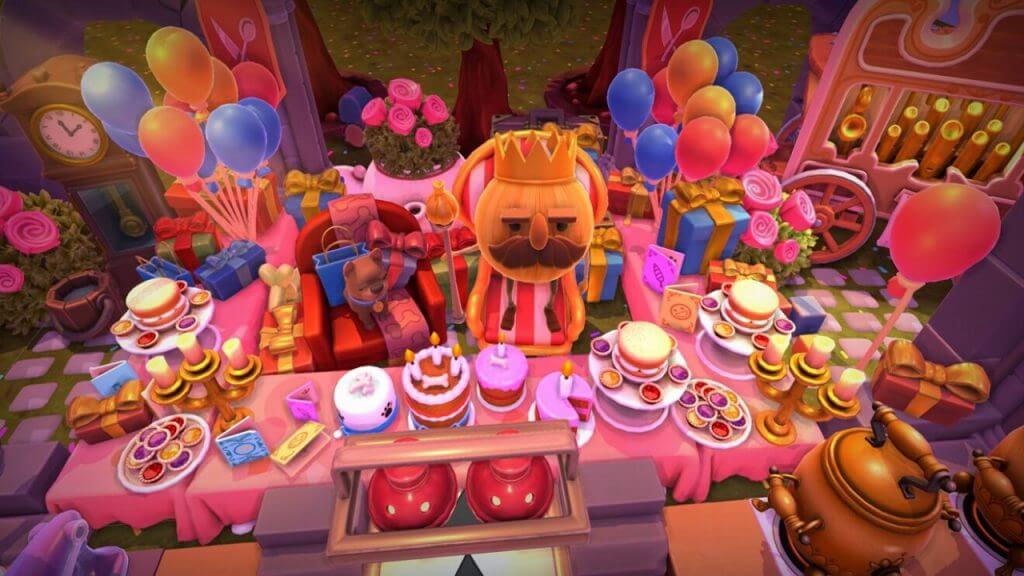 Overcooked All You Can Eat Launches Free Birthday Party Update