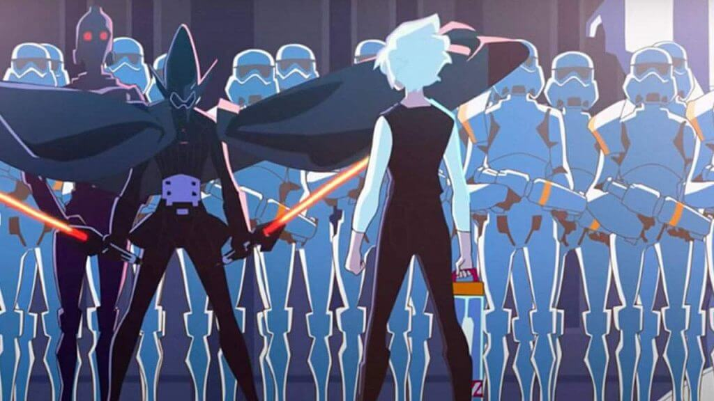 Star Wars: Visions Trailer for Disney+ Shows Off Galactic Anime Battles