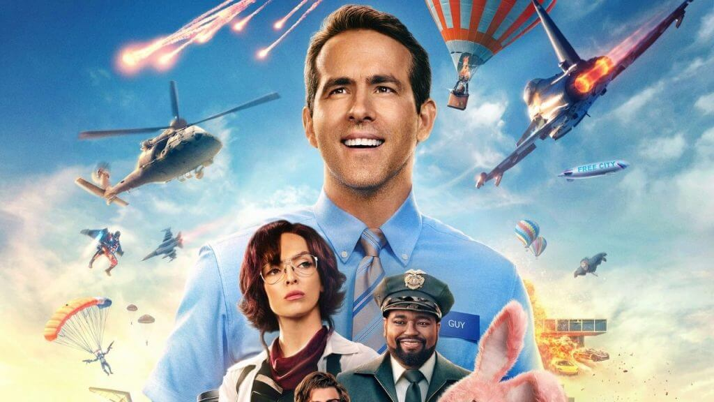 Free Guy Tops Box Office For Second Weekend