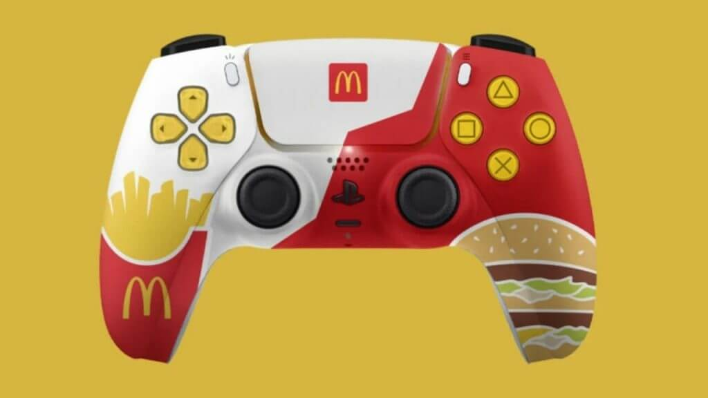 PlayStation Cancels McDonald's PS5 Limited Edition Controller