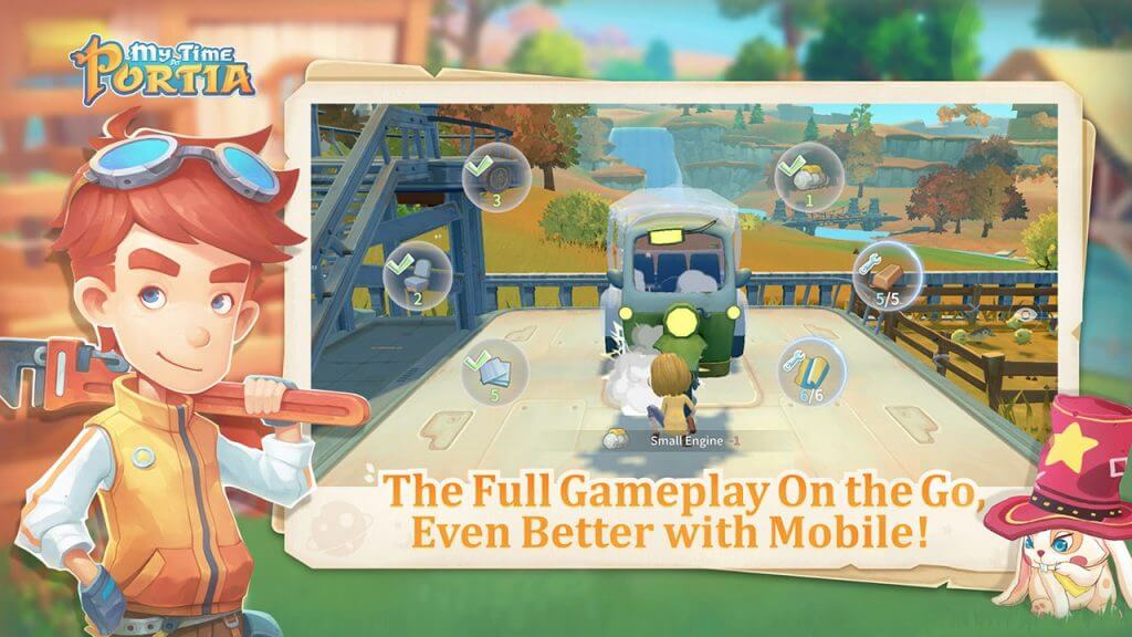 My Time at Portia Moves Out to Android, iOS Today