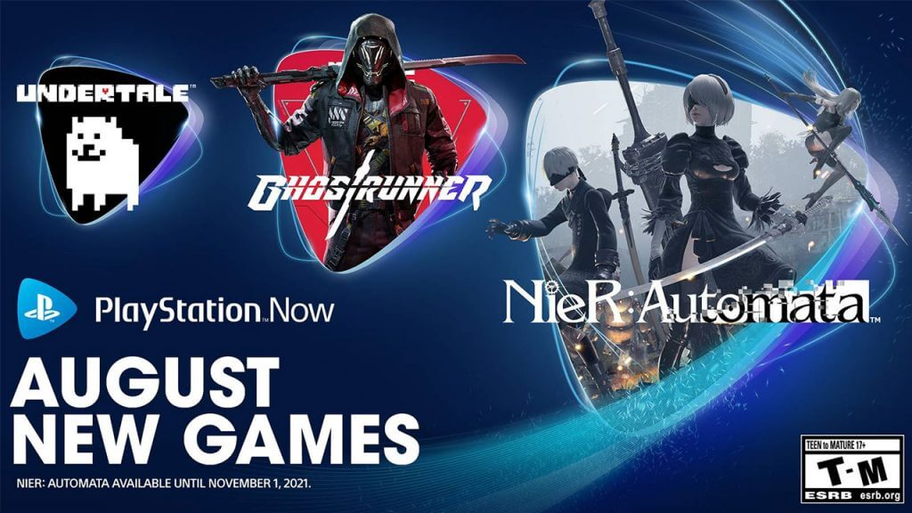 PlayStation Now Adds Undertale, NieR Starting Tomorrow