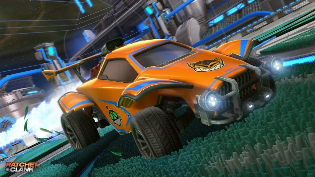 Rocket League Adds New Ratchet and Clank Cosmetics On PlayStation