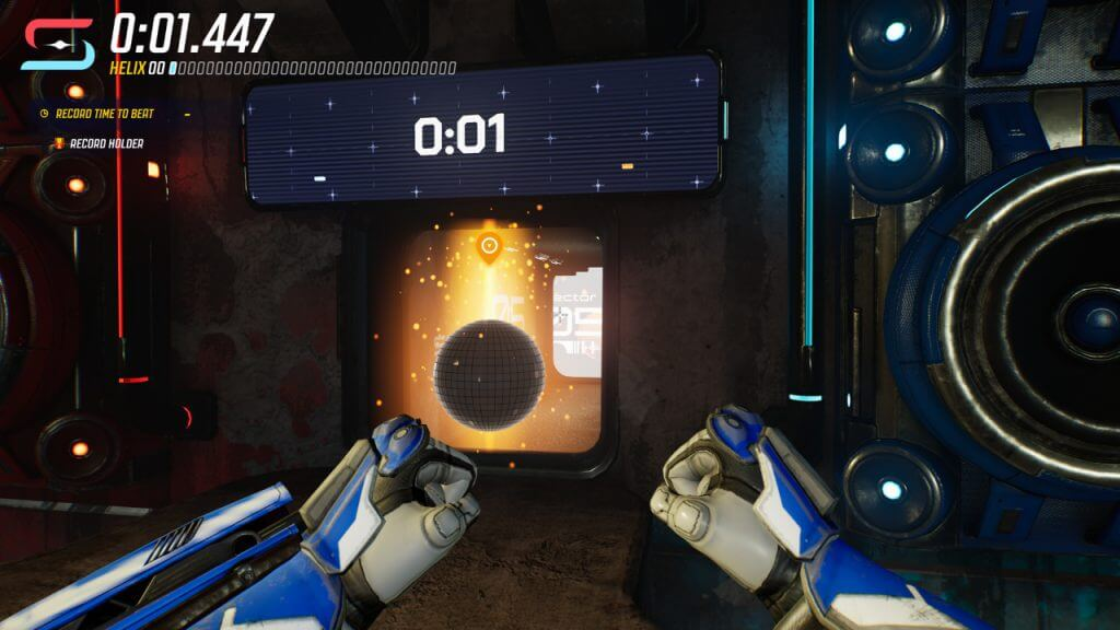 Splitgate: How to do the Helix Race