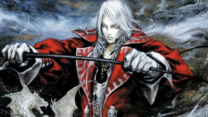 Castlevania Advance Collection castlevania games character holding sword
