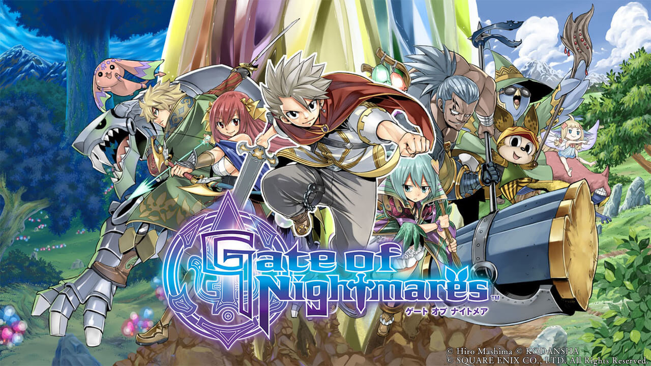 Five New Trailers for Square Enix JRPG Gate of Nightmares Release
