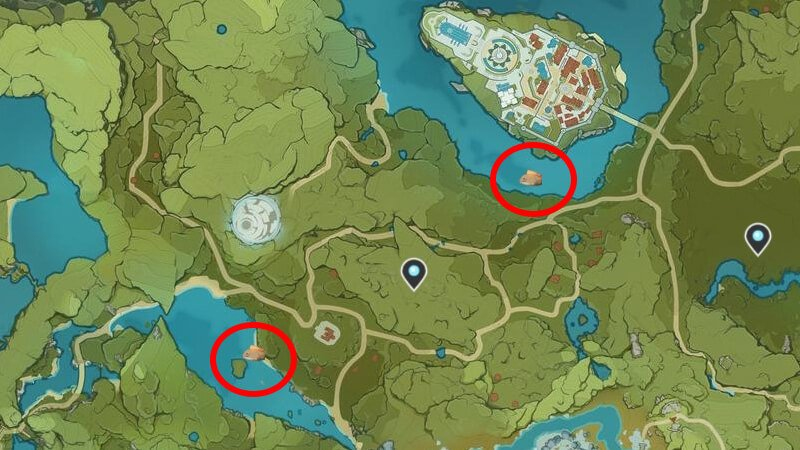 Genshin Impact Pufferfish Locations