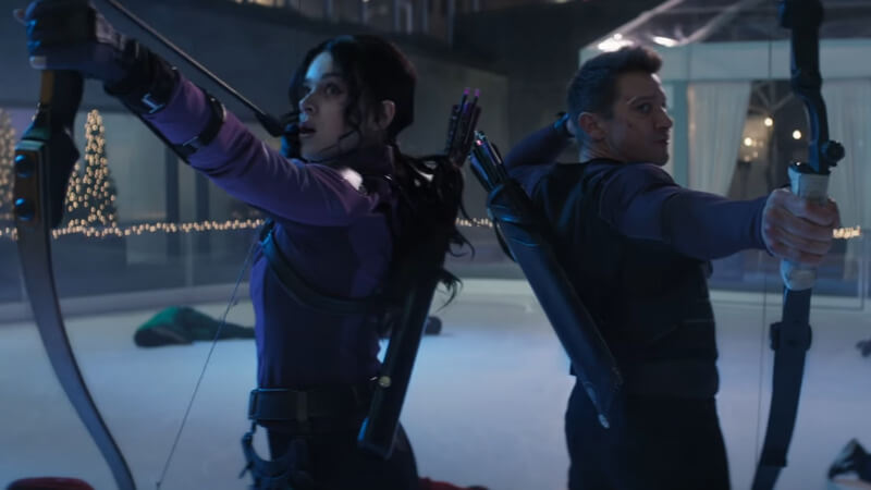 Hawkeye Series featuring Kate and Clint in Action