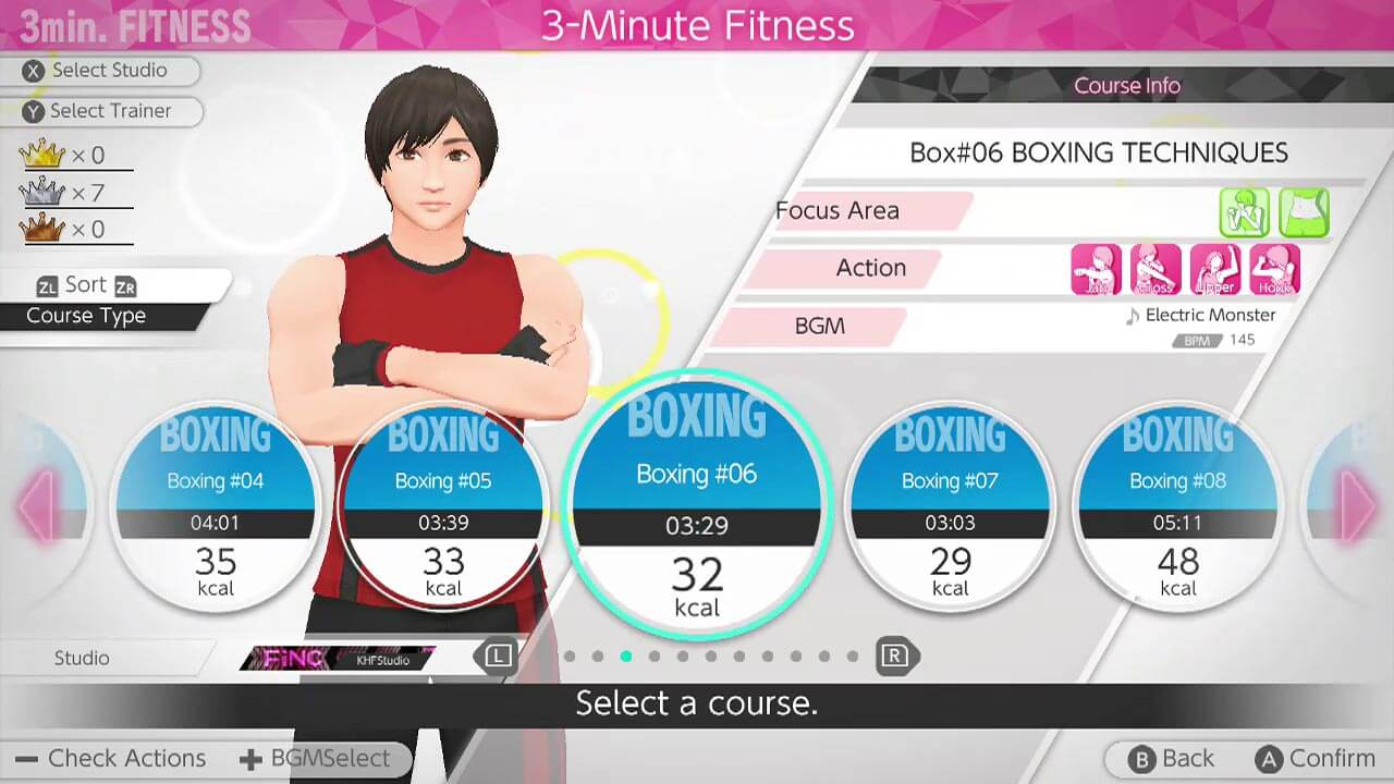 Knockout Home Fitness (and Demo) Now Available on Switch