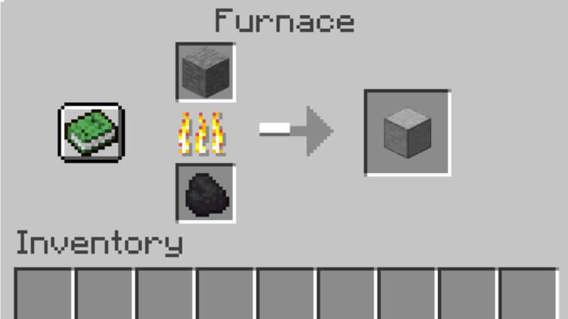 Minecraft Smooth Stone Crafting