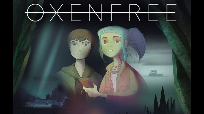 Oxenfree: Game title developed by Night Film School