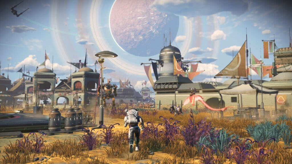 No Man's Sky Frontiers Update Patch Notes - Settlements and More