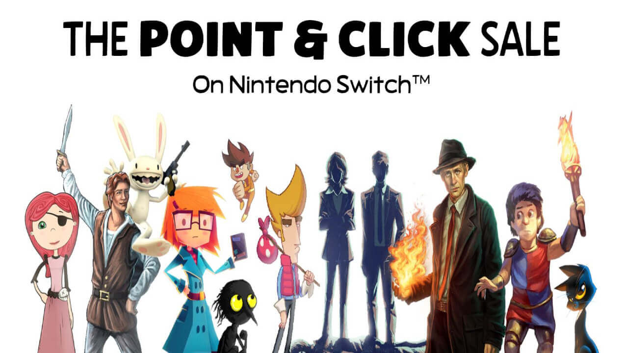 The Point And Click Sale for Nintendo Switch Features 10 Classics