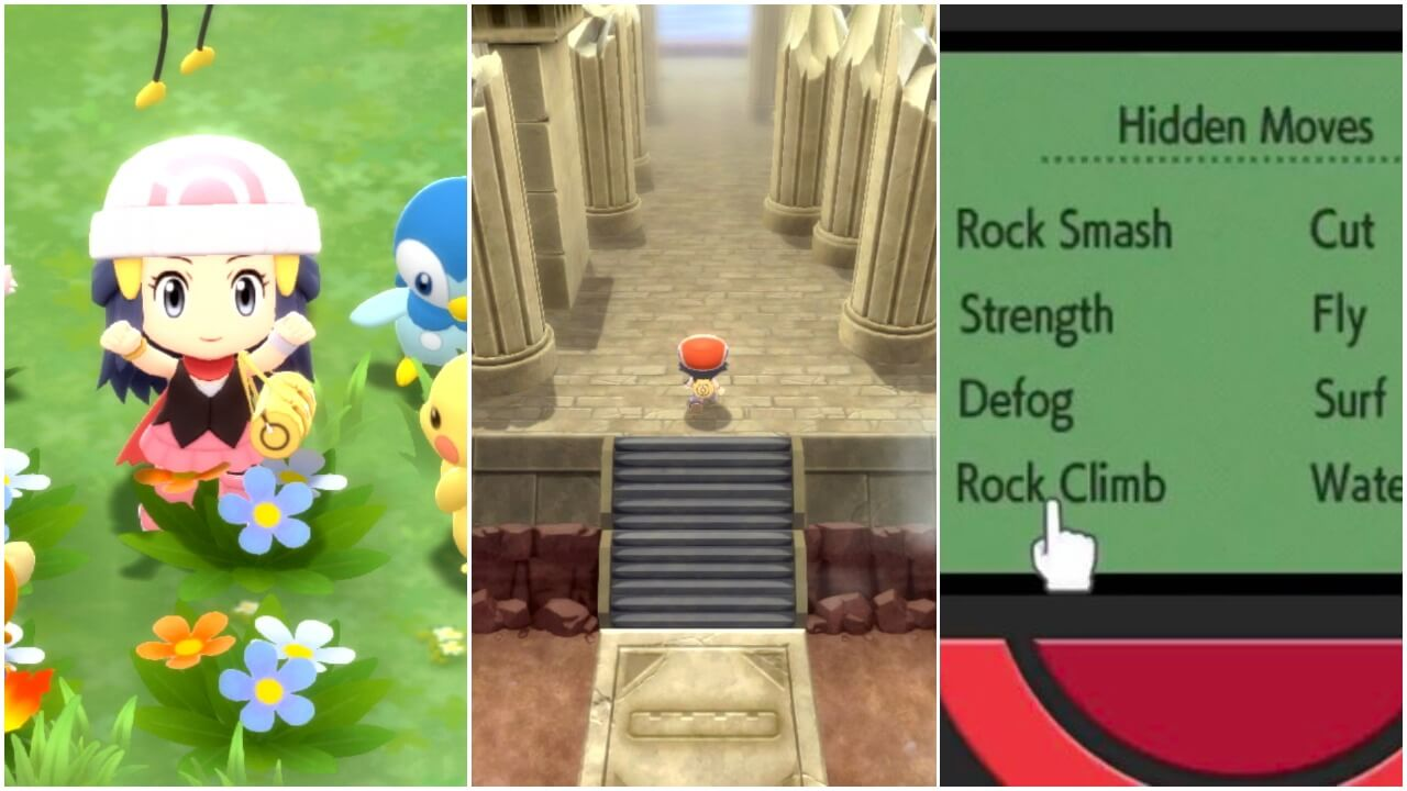 Brilliant Diamond and Shining Pearl Trailer Shows New Pokétch Features