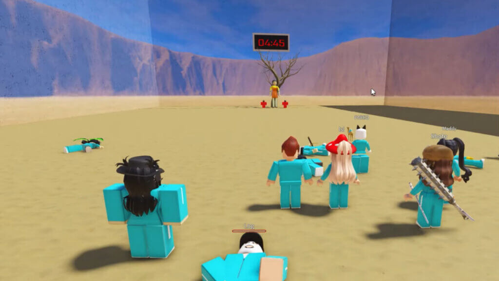 Roblox: How to Start Squid Game
