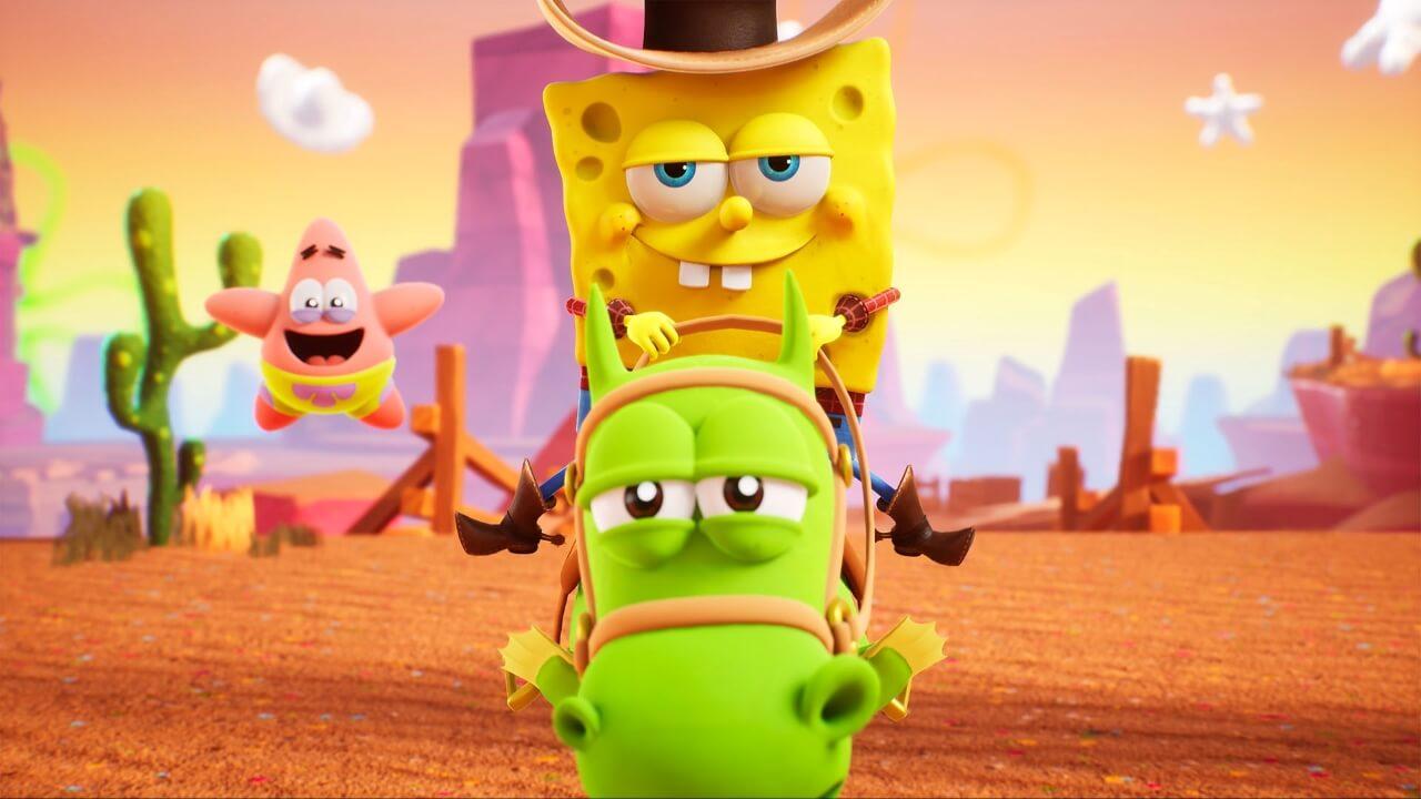 SpongeBob SquarePants The Cosmic Shake Revealed As 3D Platformer