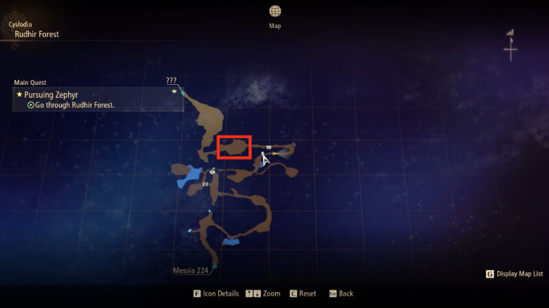 Tales of Arise How to Get Beast Mane Rudhir Forest Map