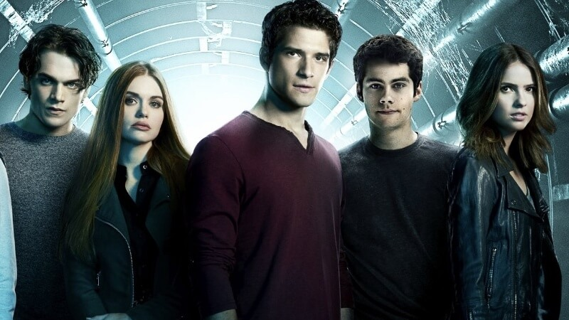 Scott, Stiles, and Lydia in Teen Wolf