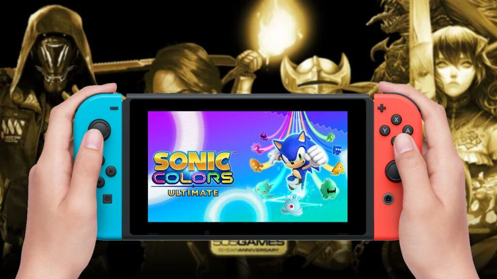 This Week (September 3) on Switch eShop: Sonic Colors and 505 Games