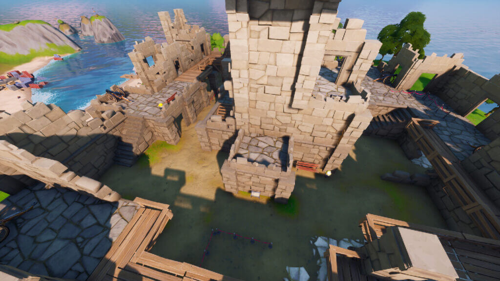 Where is Fort Crumpet in Fortnite?