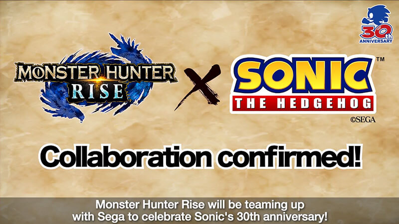 Monster Hunter Rise TGS Ghost 'n Goblins and Sonic Event Quest