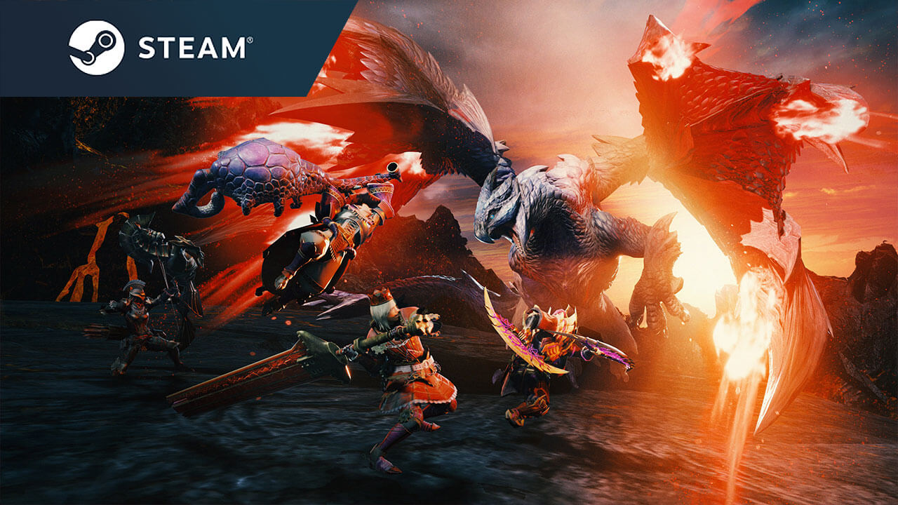 Monster Hunter Rise PC Launches January on Steam, Demo This October