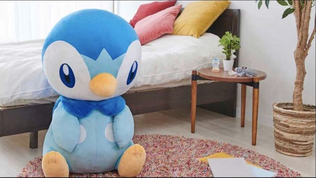 Giant Piplup Plush Preorders Start Now