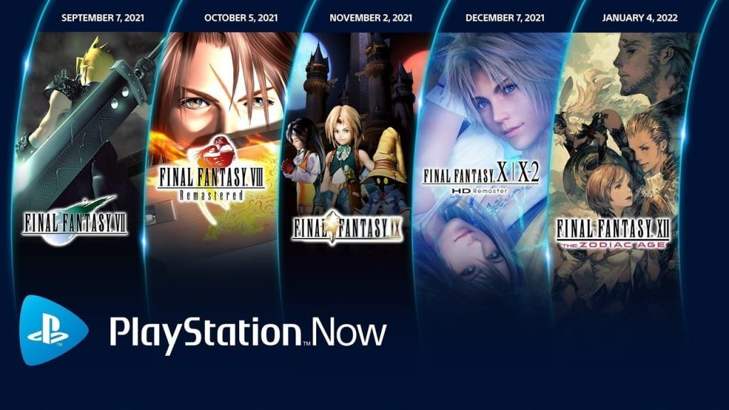 PlayStation Now Adds Final Fantasy Game Every Month
