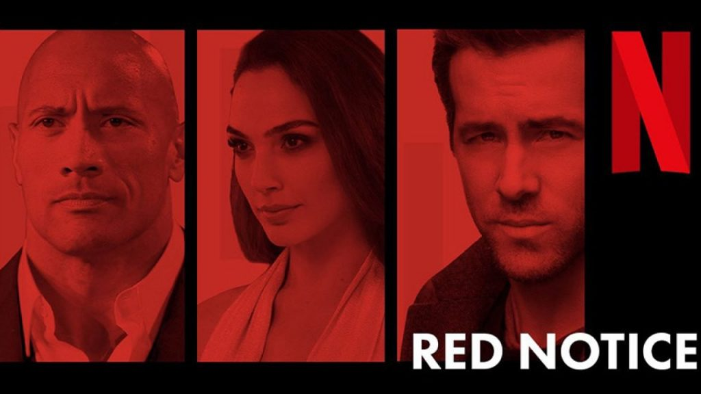 Netflix Releases First Trailer for Star-Studded Action-Thriller Red Notice