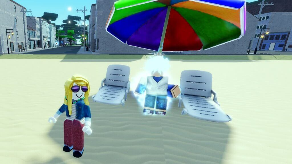 Roblox: How to Get Killua in A Universal Time