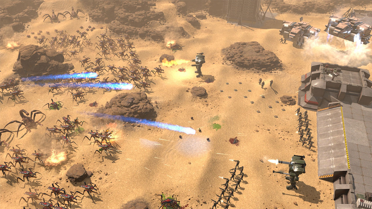 Try Out Starship Troopers: Terran Command RTS for Free Next Week