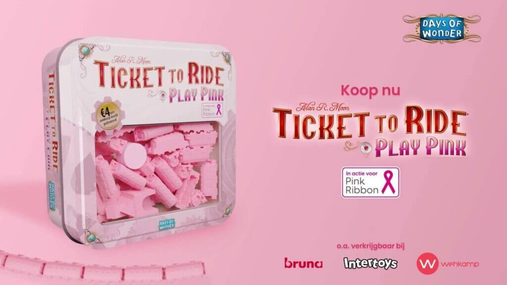 Play Pink with Ticket to Ride and Help Fight Breast Cancer