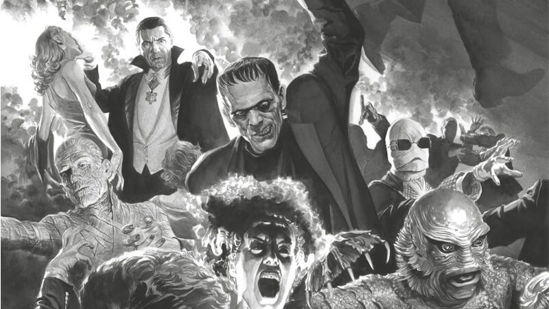 Universal Monsters by Alex Ross
