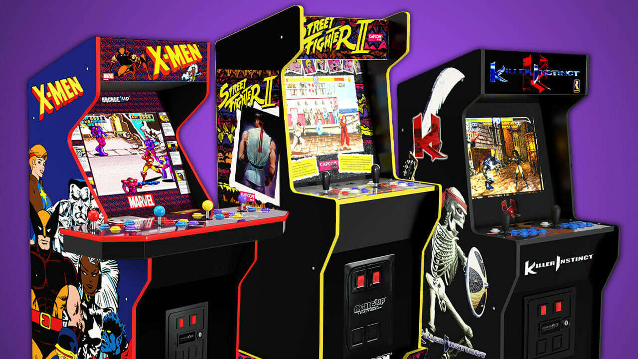 Arcade1Up Reveals Tron and Ridge Racer Cabinet Pre-Order Dates