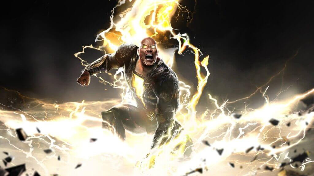 First Look at Black Adam Revealed at DC Fandome 2021
