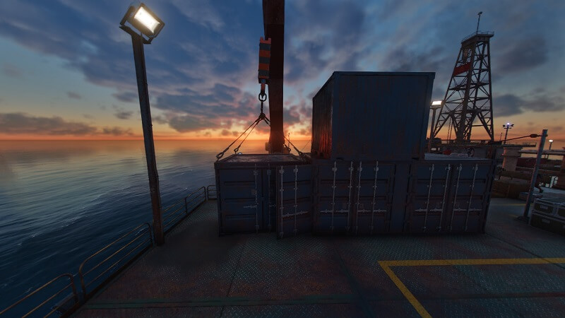 Far Cry 6 Oil Platform Container Puzzle