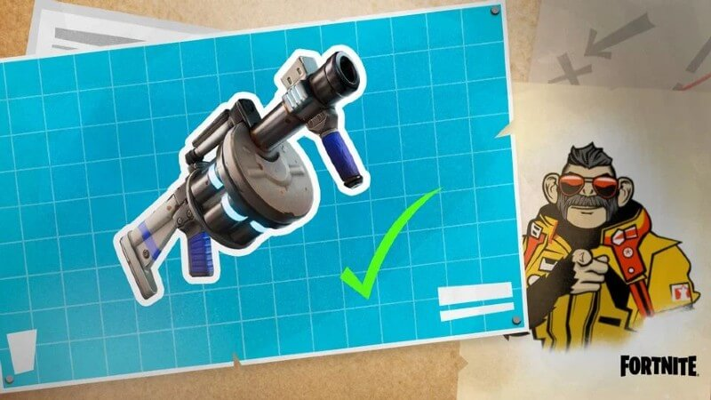 Where to Find Shockwave Launcher Fortnite