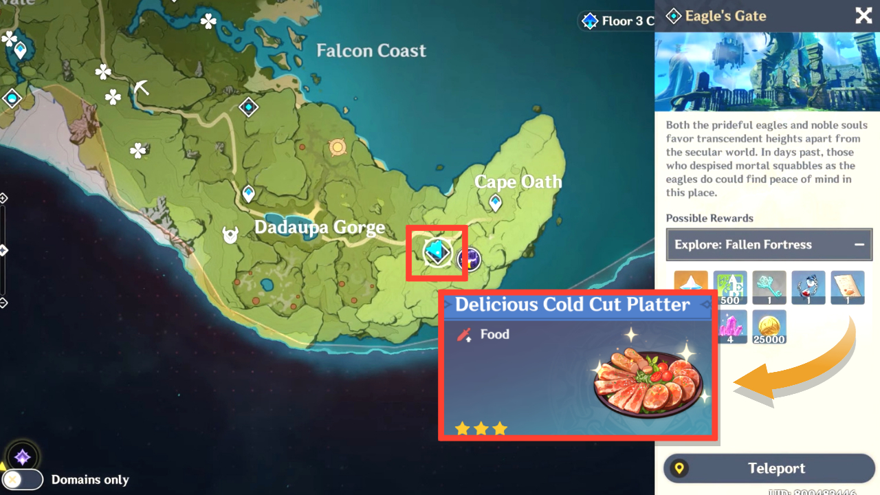 Genshin Impact: How to Get Cold Cut Platter