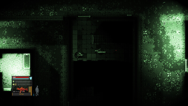 Intravenous stealth-action in night vision