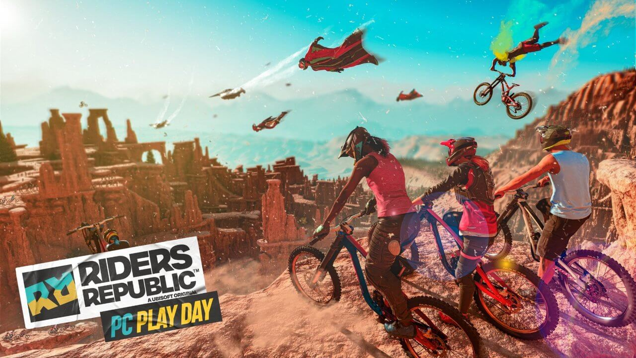 Riders Republic Free PC Play Day Now Live