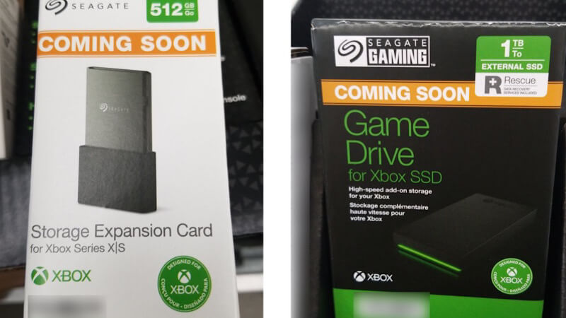 New Xbox Series X/S SSDs leaked