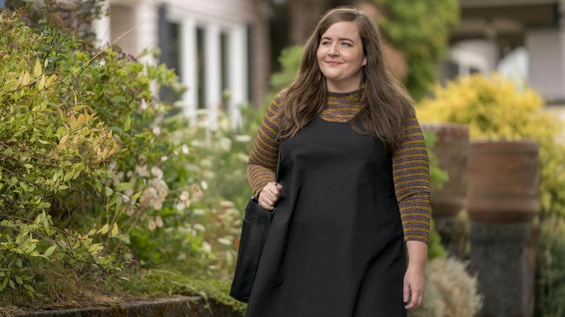 Aidy Bryant from Hulu's Shrill and SNL