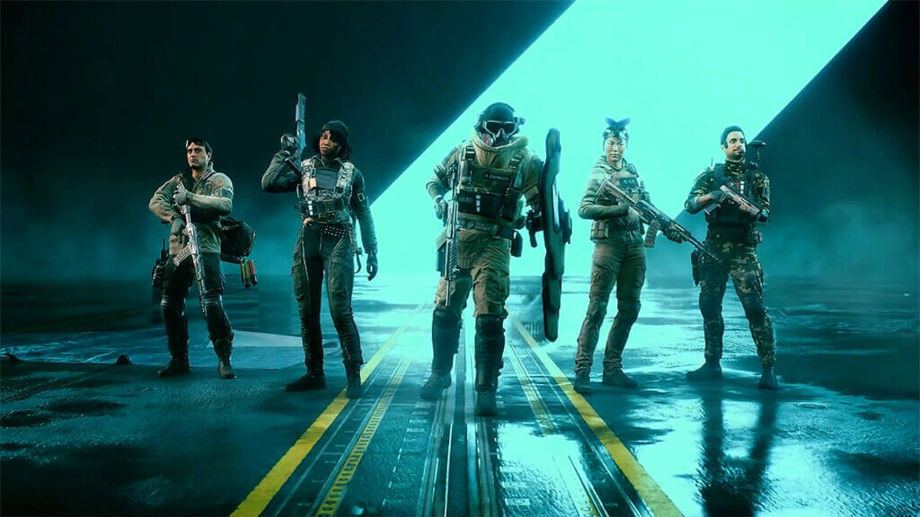 Battlefield 2042 Showcases Five Remaining Specialists