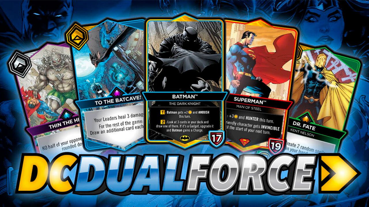 DC Dual Force Digital Card Game Launching in 2022