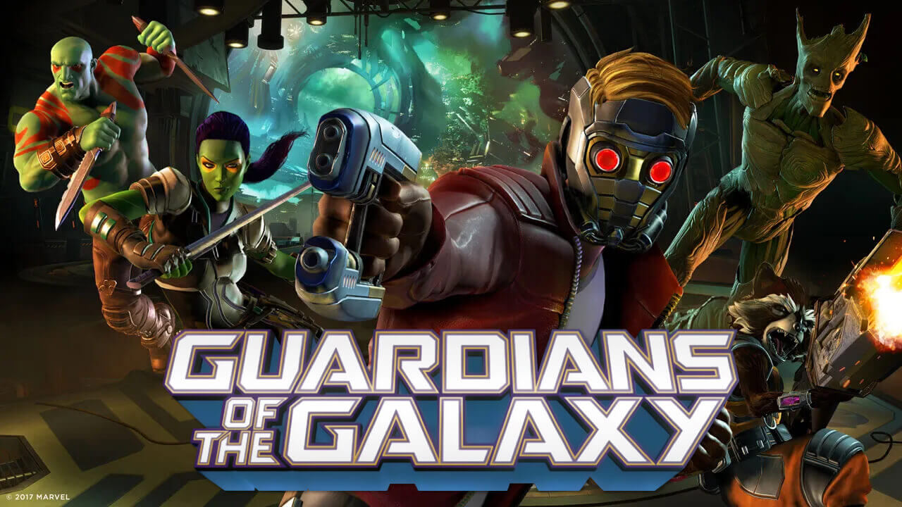 Marvel's Guardians of the Galaxy Game Trailer Launches