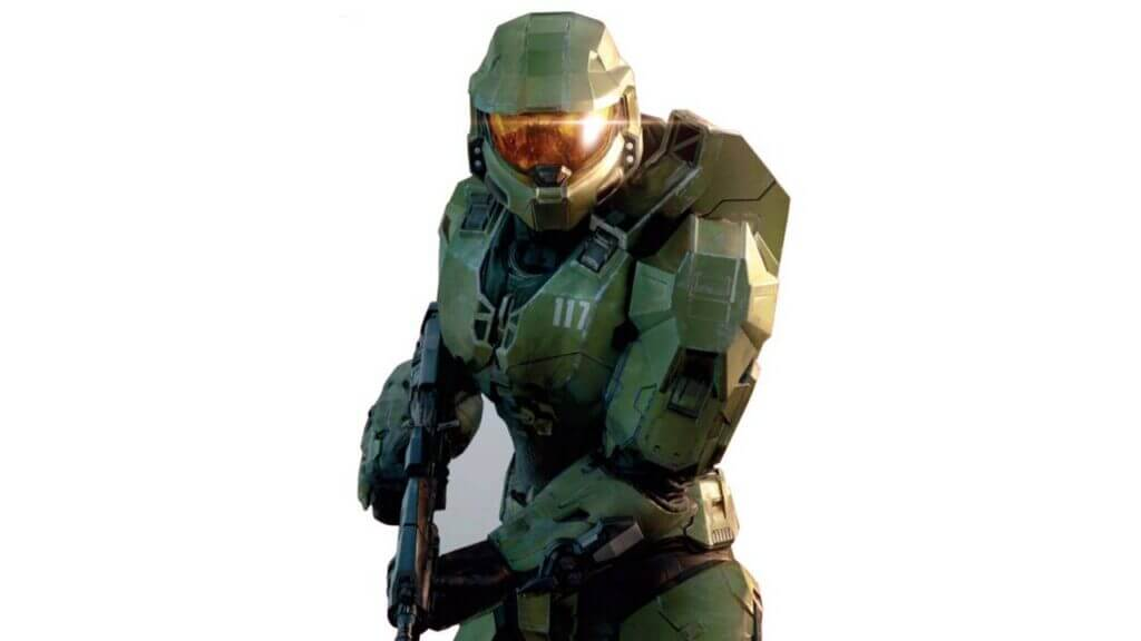 Xbox is Selling Life-Sized Halo Infinite Master Chief Standees