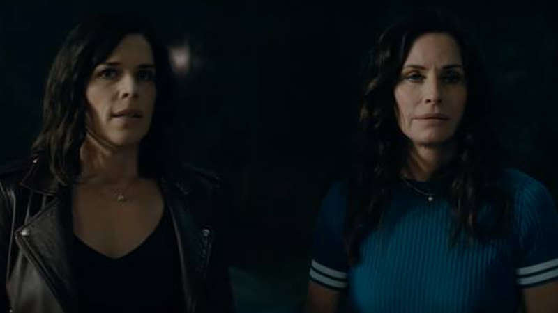Sidney and Gale in Scream
